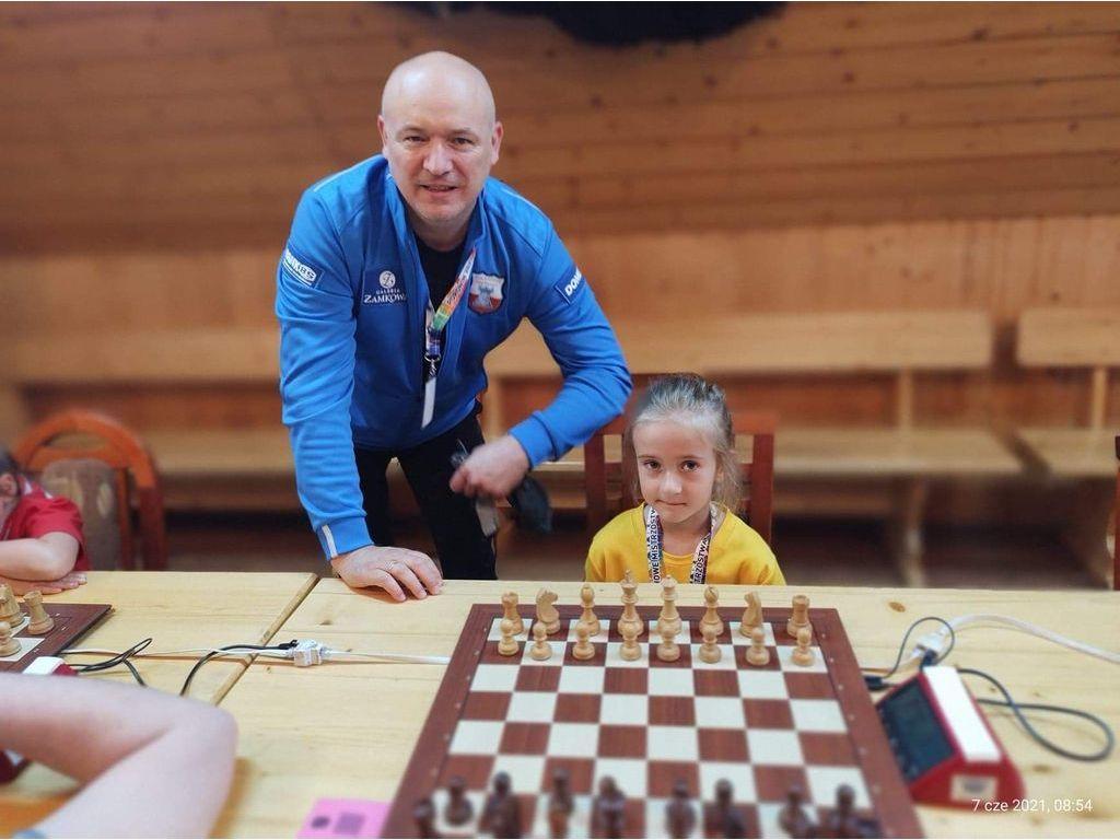 Alicja i jej trener
