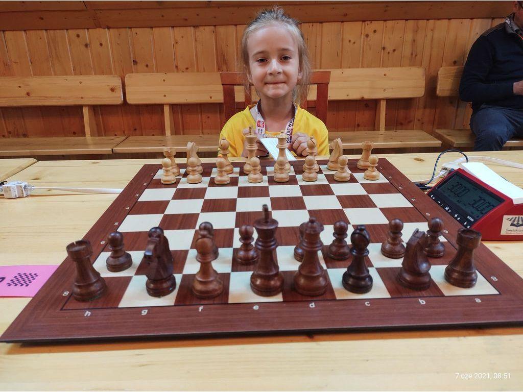 Alicja przy szachach