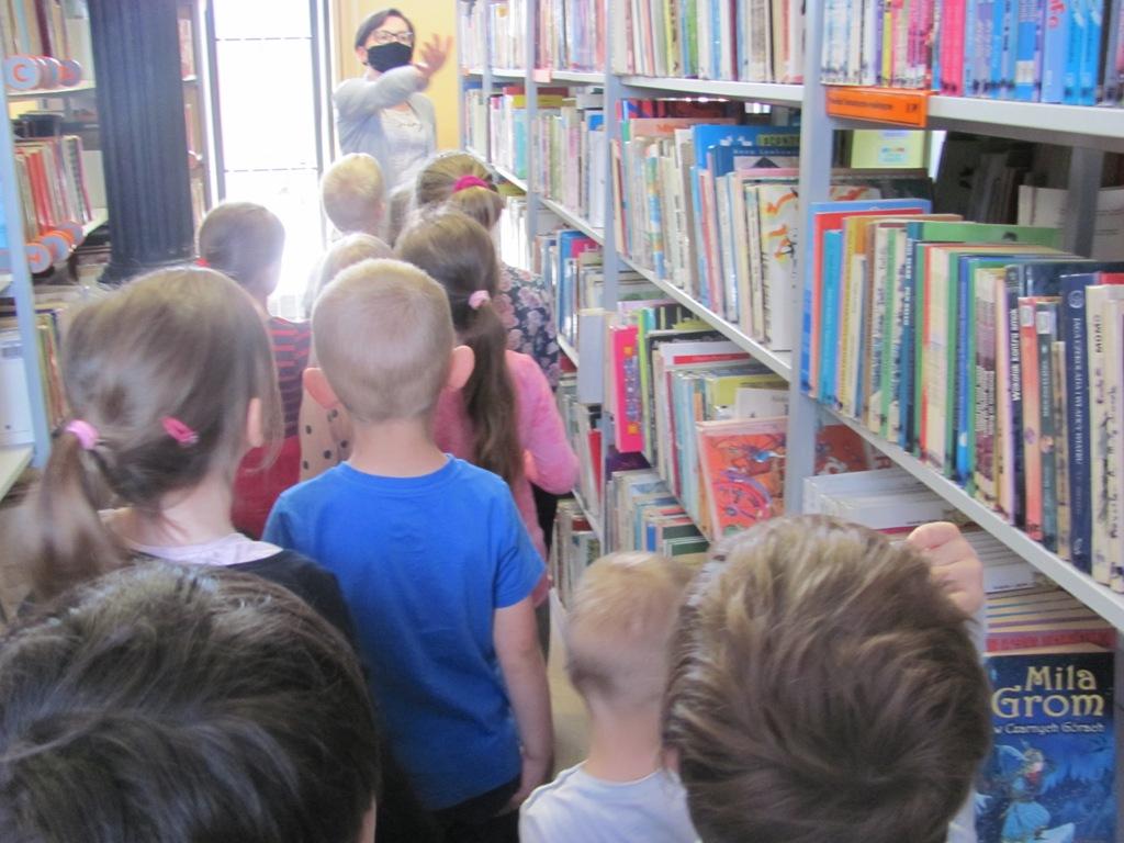 Ogladamy książki grupa Szarotki