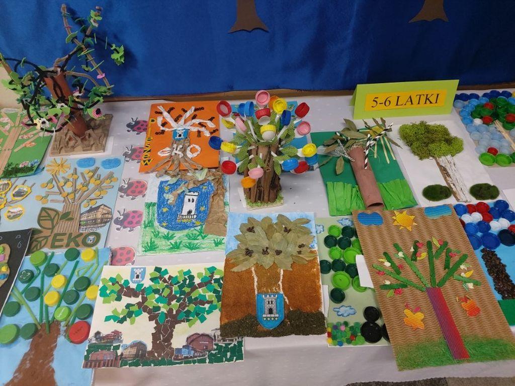 Konkurs ekologiczny wystawa prac