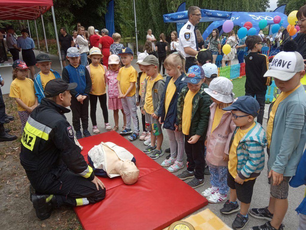 Nauka pierwszej pomocy grupa Szarotki