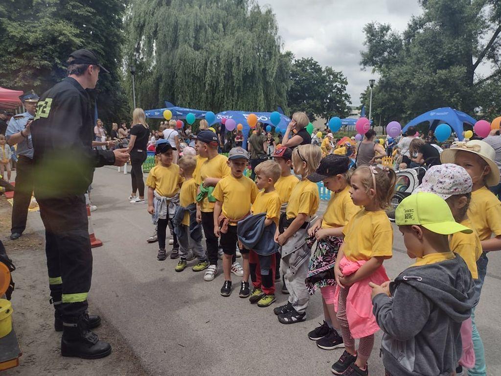 Rady strażaków grupa Różyczki
