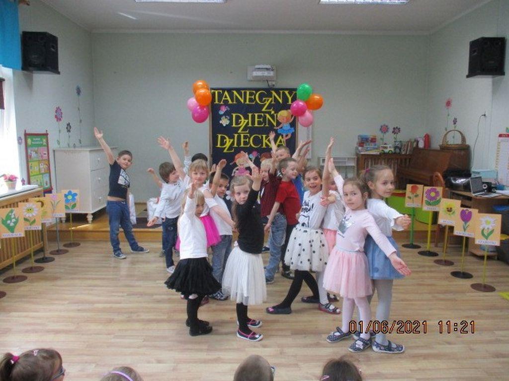 Taniec grupa Szarotki